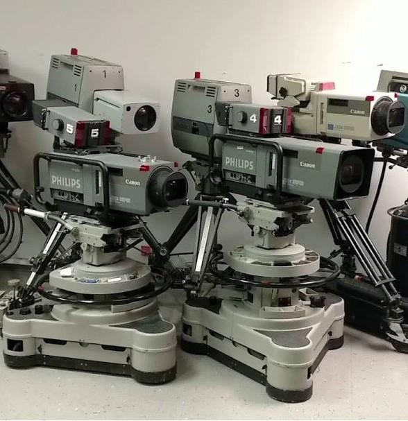 television studio cameras props prop rental prop rentals movie
