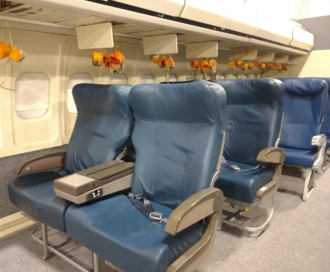 RJR Props - Airplane Seats - Vintage Airplane seats - First class