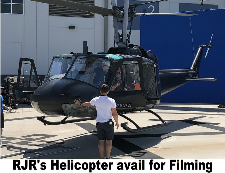 RJR Props - Helicopter for rent for movie production