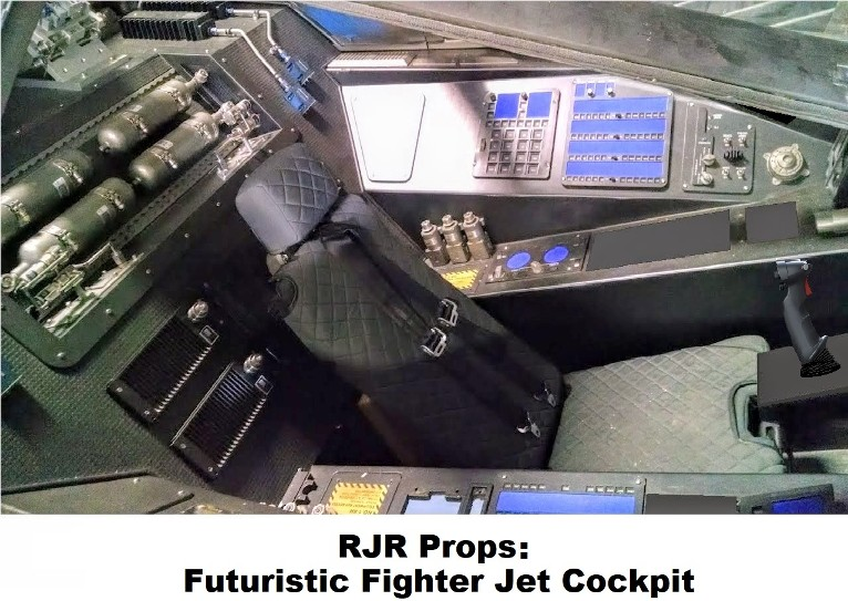RJR Props - Fighter Jet Cockpit - Futuristic