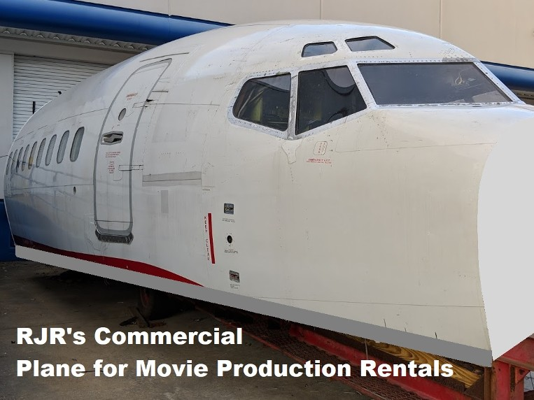 RJR Props - Commercial Airplane for film rental