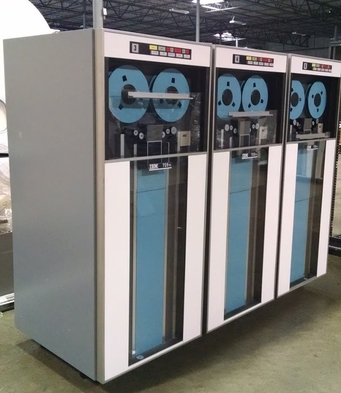 Reel to Reel Servers, IBM 729 Magnetic Tape Drive, IBM Magnetic Tape Drive