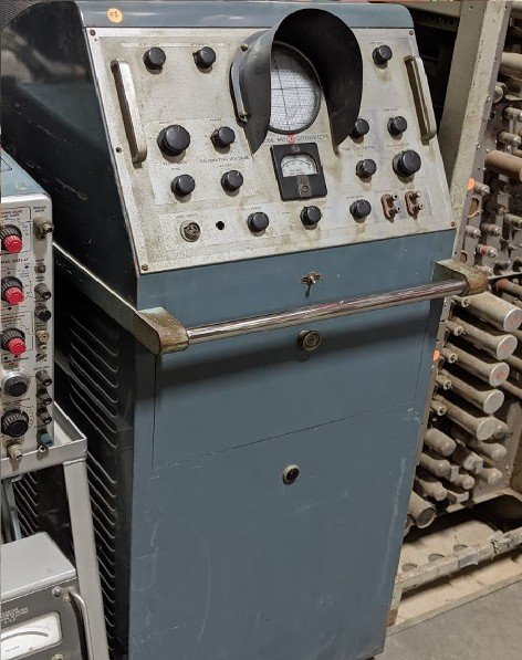Vintage oscilloscope, Broadcast television props